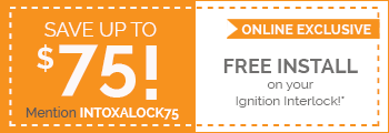 Intoxalock interlock device coupon for installations in Commerce City.