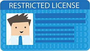 Restricted License Image