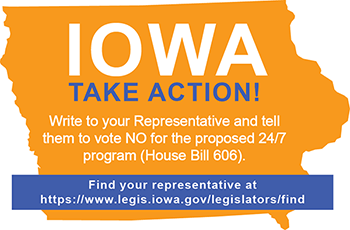 Iowa votes to weaken drunk driving laws – Take action now!