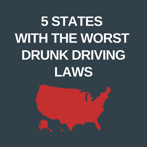 Five states with the worst drunk driving laws