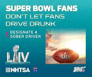 Celebrate Super Bowl LIV Safely