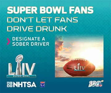 Celebrate Super Bowl LIV Safely