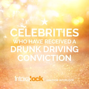 Celebrities with drunk driving convictions