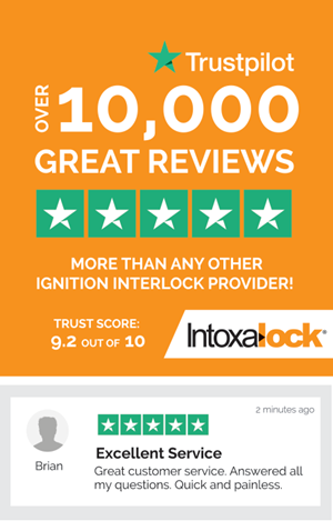Intoxalock Reaches 10,000 Reviews On TrustPilot!