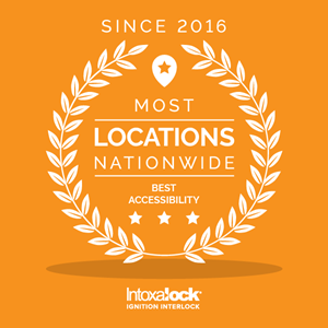 Choose the ignition interlock provider with the most locations nationwide