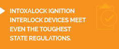 Intoxalock Ignition Interlock is the most trusted ignition interlock device provider.