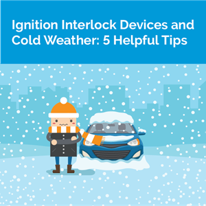 Ignition interlock devices and cold weather
