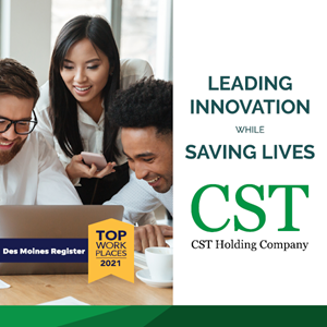 Intoxalock's Holding Company CST Named One of Iowa's Top Workplaces